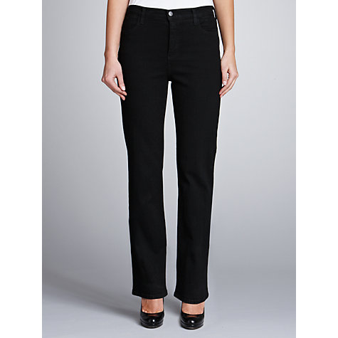 Buy Not Your Daughters Jeans Straight Leg Jeans, Black Online at johnlewis.com