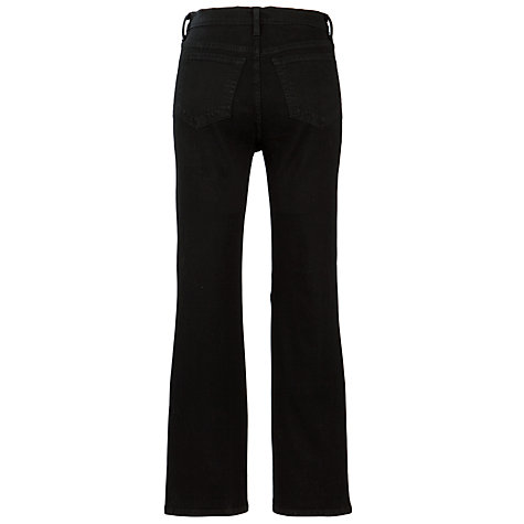 Buy NYDJ Straight Leg Jeans, Black Online at johnlewis.com