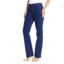 Buy NYDJ Straight Leg Jeans, Blue Online at johnlewis.com