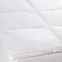 Buy John Lewis Duck Feather and Down Mattress Topper Online at johnlewis.com