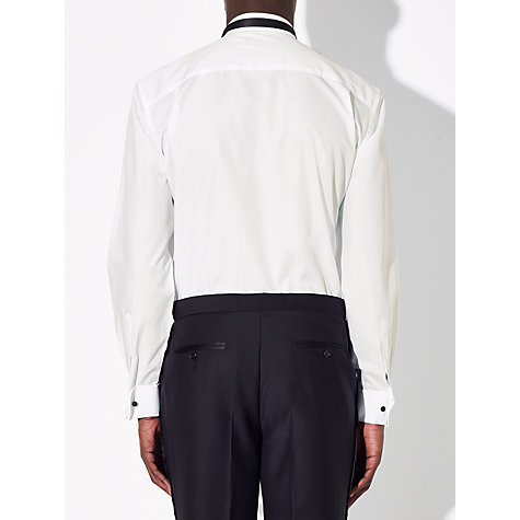 Buy John Lewis Marcello Wing Collar Double Cuff Regular Fit Dress Shirt, White Online at johnlewis.com