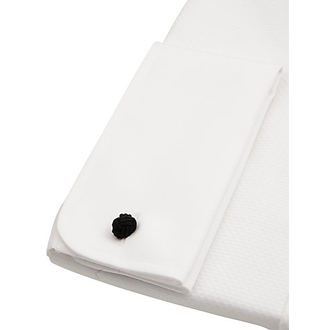 Buy John Lewis Marcello Wing Collar Double Cuff Dress Shirt, White Online at johnlewis.com