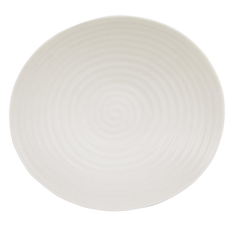 Buy Sophie Conran for Portmeirion Salad Bowl, White Online at johnlewis.com