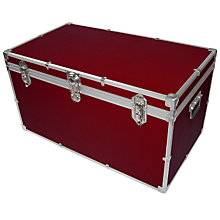 Buy John Lewis 227L Fortified Deep Trunk Online at johnlewis.com