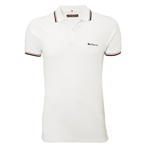 Buy Ben Sherman Romford Tipped Polo Shirt Online at johnlewis.com