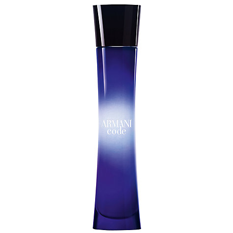 Buy Giorgio Armani Code For Women Eau de Parfum Online at johnlewis.com