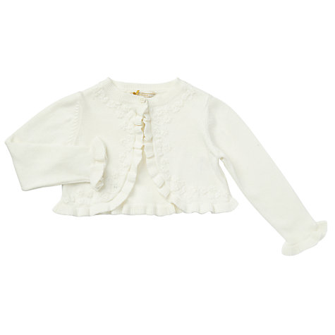 Buy John Lewis Ruffle Shrug Cardigan Online at johnlewis.com