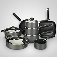 Buy John Lewis Hard Anodised Nonstick Cookware Range Online at johnlewis.com