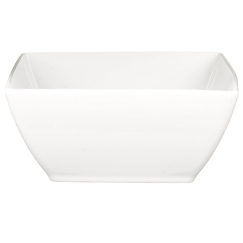 Buy Rosenthal Thomas Loft Deep Square Bowls, White Online at johnlewis.com