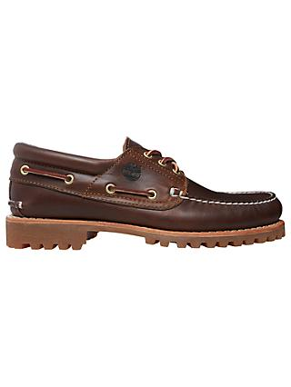 Timberland Handsewn Boat Shoes, Brown