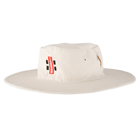Buy Gray-Nicolls Cricket Sun Hat, Ivory Online at johnlewis.com