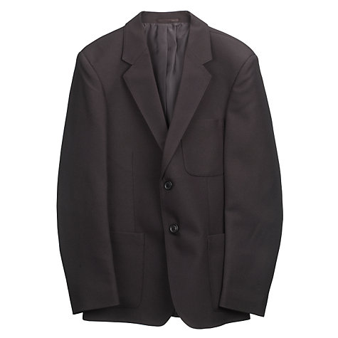 Buy John Lewis Boys' School Blazer, Black Online at johnlewis.com