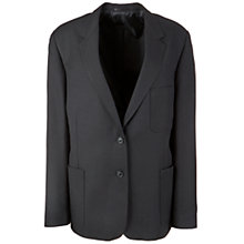 Buy John Lewis Girls' School Blazer, Black Online at johnlewis.com