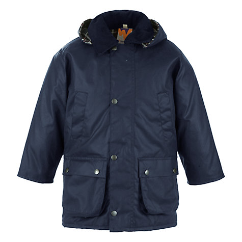 Buy John Lewis Children's Hooded 3-In-1 Jacket, Navy Online at johnlewis.com