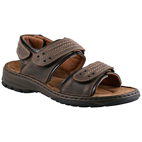 Buy Josef Seibel Firenze 01 Sandals, Brown Online at johnlewis.com