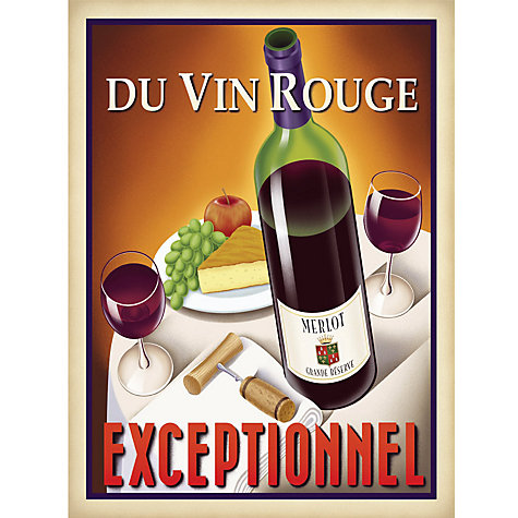 Buy Du Vin Rouge Exceptionnel Online at johnlewis.com