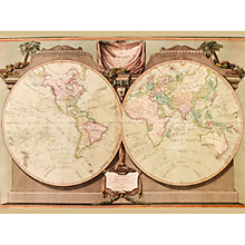 Buy A New Map Of The World, 1808 Online at johnlewis.com
