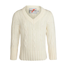 Buy Gray-Nicolls Cricket Sweater, Ivory Online at johnlewis.com