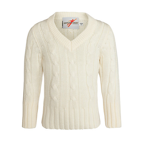 Buy Gray-Nicolls Cricket Jumper, Ivory Online at johnlewis.com