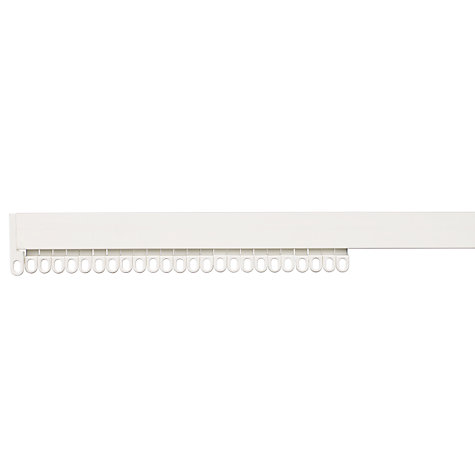 Buy John Lewis PVC Uncorded Curtain Track, L250cm Online at johnlewis.com