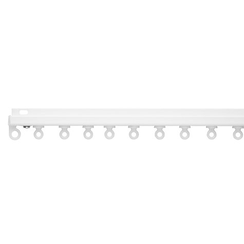 Buy John Lewis Aluminium Slim Tracks, Face Fixing, L250cm Online at johnlewis.com