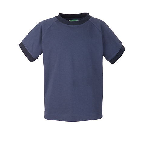 Buy Guides Short Sleeve T-Shirt, Blue Online at johnlewis.com