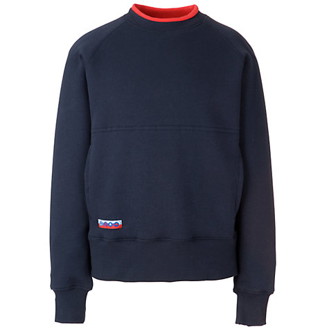 Buy Guides Long Sleeve Sweatshirt, Navy Online at johnlewis.com