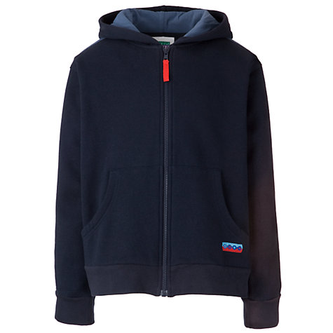 Buy Guides Zipped Hoodie, Navy Online at johnlewis.com