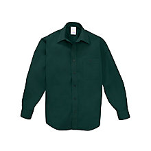 Buy Scouts Long Sleeve Shirt, Green Online at johnlewis.com