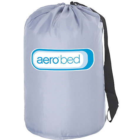 Buy AeroBed Super Mattress, Light Grey, Single Online at johnlewis.com