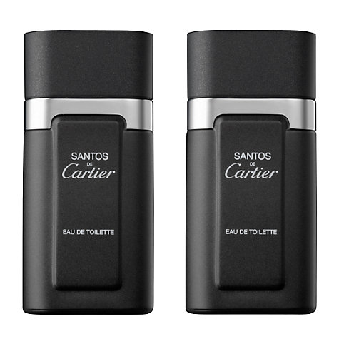 Buy Santos De Cartier for Men Eau De Toilette Spray Online at johnlewis.com