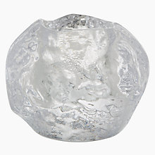 Buy Kosta Boda Snowball Tealight Holder Online at johnlewis.com