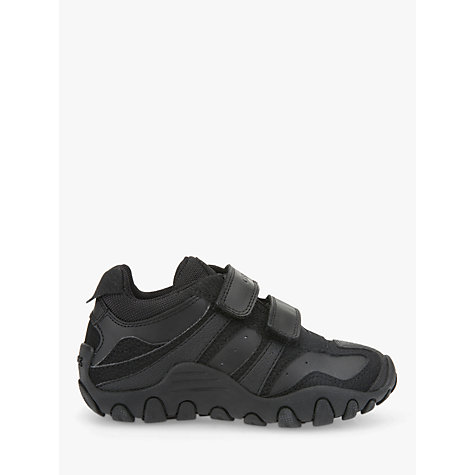 Buy Geox Crush Trainers, Black Online at johnlewis.com