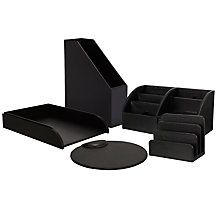 Osco Black Desk Accessories