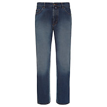 Buy Gant Bandana Straight Leg Jeans, Indigo Online at johnlewis.com