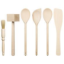 Buy John Lewis FSC Wooden Utensils Online at johnlewis.com