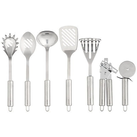Buy John Lewis Stainless Steel Ice Cream Scoop Online at johnlewis.com