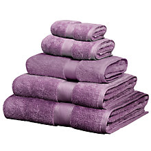 Buy John Lewis Platinum Hygro Suvin Towels Online at johnlewis.com