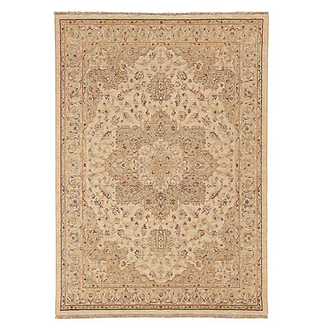 Buy Osta Kabir Medallion Rug, Ivory, L200 x W295cm Online at johnlewis.com