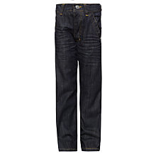 Buy John Lewis Boy Standard Fit Jeans, Denim Online at johnlewis.com