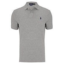 Buy Polo Ralph Lauren Custom Fit Polo Shirt, Andover Heather Online at johnlewis.com