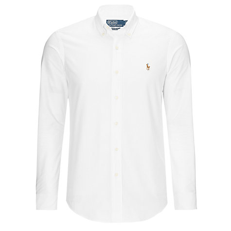 Buy Polo Ralph Lauren Custom Fit Shirt Online at johnlewis.com