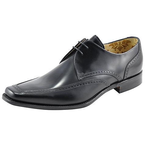 Buy Loake Harrison Designer Shoe, Black Online at johnlewis.com