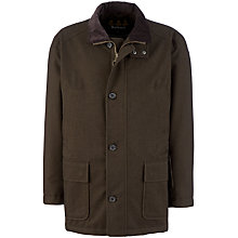 Buy Barbour Challenger Waterproof Jacket, Olive Online at johnlewis.com