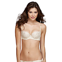 Buy Elle Macpherson Intimates Artistry Balcony Bra, Retro Cream Online at johnlewis.com