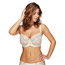 Buy Elle Macpherson Intimates Artistry Underwired Bra, Retro Cream Online at johnlewis.com