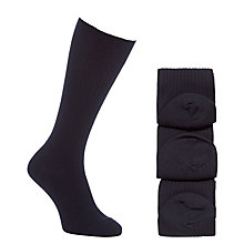 Buy John Lewis Wool Mix Socks, Pack of 3 Online at johnlewis.com