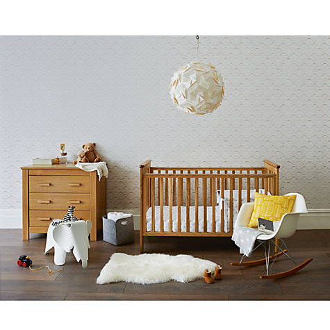Buy john lewis lasko nursery furniture range oak john lewis for Furniture john lewis