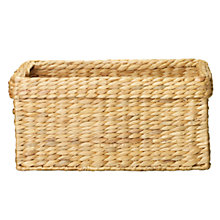 Buy John Lewis Water Hyacinth Basket Range Online at johnlewis.com