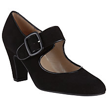 Buy John Lewis Xercan Mary Jane Buckle Shoes, Black Online at johnlewis.com